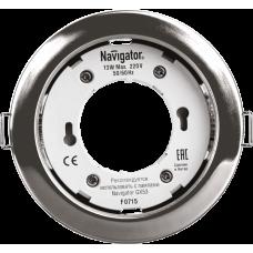 Светильник Navigator 71 279 NGX-R1-003-GX53(Хром)