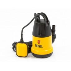 Дренажный насос DP250 250 Вт, подъем 6 м, 6000 л/ч. DENZEL