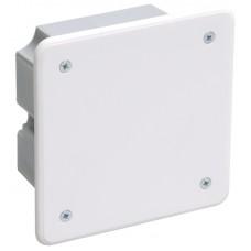 Коробка распределительная ОП 92х92х45мм КМ41021 для полых стен (с саморезами. метал. лапки. с крышкой ) ИЭК UKG11-092-092-040-M