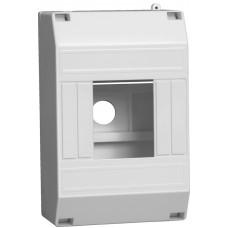 Бокс ОП КМПн 1/4 для 2-4-х авт. выкл. IP30 ИЭК MKP31-N-04-30-135