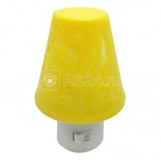 """Светильник NL-192 ночник с выкл. """"Светильник желтый"""" 220В Camelion 12908"""