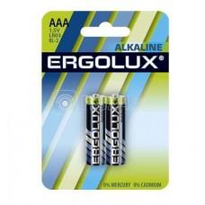 Элемент питания алкалиновый LR03 BL-2 LR03 BL-2 1.5В Alkaline (блист.2шт) Ergolux 11743