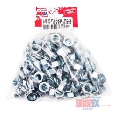 Гайка М12 DIN 934 BROZEX (100шт)