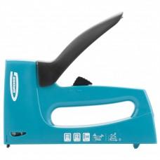 Степлер мебельный, пластиковый корпус, регулировка удара, тип скобы: 13, 53, 300, 6-16 мм. GROSS