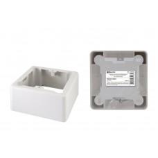 Коробка установочная ОП 85х85х42 мм, 1-местная, подъемная, белая, IP20, инд. штрихкод TDM