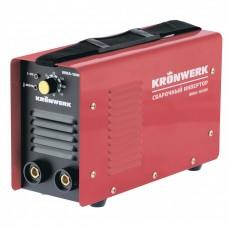 Аппарат инверторный дуговой сварки ММА-160IW, 160 А, ПВР60%, диаметр электрода 1,6-3,2 мм, провод 2 м. Kronwerk