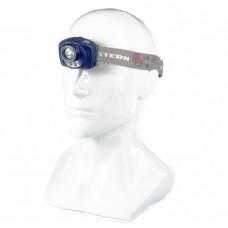Фонарь наголовный Extreme, ABS, 3 режим, ИК сенсор, CREE XP-E LED 3Вт 120Лм+2 reD, 8 ч, 3 х ААА. STERN