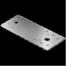 Пластина крепежная  80*40*1,5 мм оцинкованная НАКРЕПКО 012001