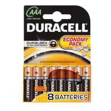 Элемент питания алкалиновый LR LR03-8BL BASIC (блист.8шт) Duracell C0033441