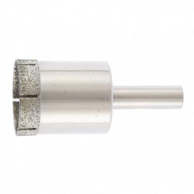 Сверло по стеклу и керамической плитке, 28 х 55 мм, цилиндрический хвостовик. СИБРТЕХ
