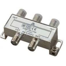 """Делитель ТВ """"краб"""" х4 под F разъем 5-1000 МГц Rexant 05-6003"""