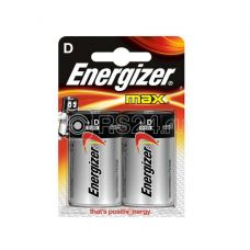 Элемент питания алкалиновый LR20-2BL MAX (2/24/2880) (блист.2шт) Energizer Б0016823