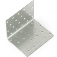Крепежный уголок равносторонний 2 мм, KUR 80 х 80 х 100 мм, Россия. СИБРТЕХ
