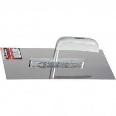 Гладилка из нержавеющей стали, 600 х 130 мм, деревянная ручка. MATRIX