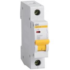 Выключатель автоматический модульный 1п B 4А 4.5кА ВА47-29 ИЭК MVA20-1-004-B
