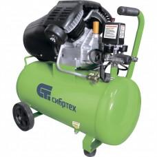 Компрессор воздушный КК-2200/50, 2,2 кВт, 350 л/мин, 50 л, прямой привод, масляный. СИБРТЕХ
