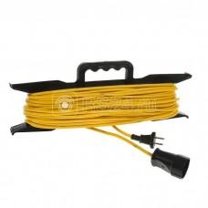 Удлинитель-шнур на рамке 1х20м без заземл. 10А IP20 1.3кВт Союз 481S-5102
