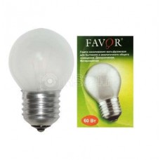Лампа накаливания ДШМТ 230-60Вт E27 (100) Favor 8109024