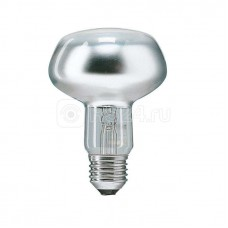 Лампа накаливания Refl 60Вт E27 230В NR80 25D 1CT/30 Philips 923331044253 / 871150006581078