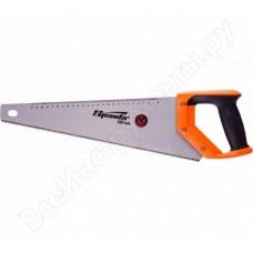 Ножовка по дереву, 400 мм, 7-8 TPI, зуб 2D, каленый зуб, линейка, двухкомпонентная рукоятка. SPARTA