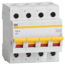 Выключатель нагрузки ВН-32 63А/4П ИЭК MNV10-4-063