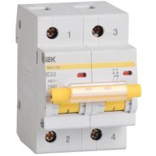 Выключатель автоматический модульный 2п C 25А 10кА ВА47-100 ИЭК MVA40-2-025-C
