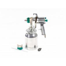 Краскораспылитель AS 702 НP профессиональный, всасывающего типа, сопло 1,8 мм и 2 мм. STELS