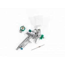Краскораспылитель AG 810 HVLP, гравитационный, сопло 0,8 мм и 1 мм. STELS