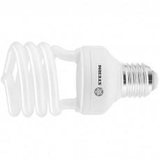 Лампа компактная люминесцентная, полуспиральная, 26 W, 2700K, E27, 8000ч. STERN
